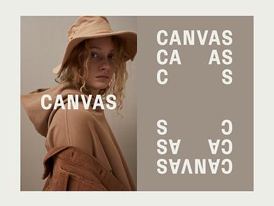 CANVAS | Branding branding logo typography