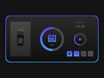 Daily UI #034 : Car Interface
