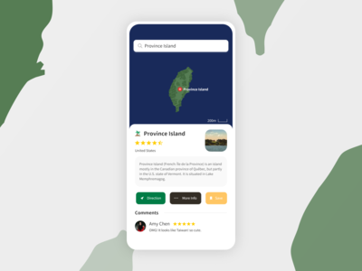 Daily UI #029 : Map