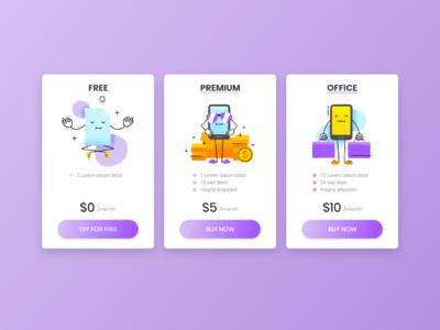 Daily UI #030 : Pricing