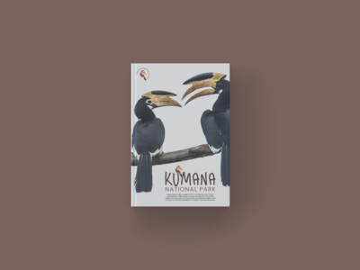 kumana national park logo design