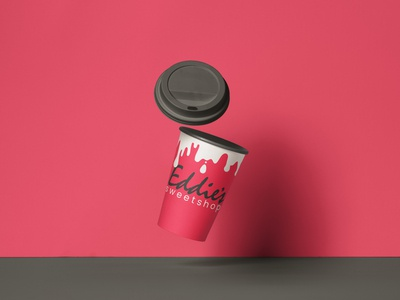 EDDIE'S sweet shop, NYC concept logo design