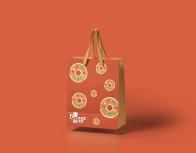 The Donut Man, California logo redesign