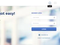 WebPos Login Page