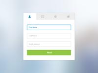 Registration Template - PSD