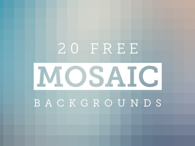 Mosaic Backgrounds backgrounds mosaic high-res downloads blurred