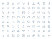 250+ Outline Finance Vector Icons