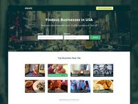 USLOC - Website Landing Page Design