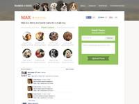 Dog name page