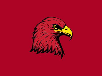Eagle Headshot Illustration logo bird illustrator avatar artwork illustration eagle