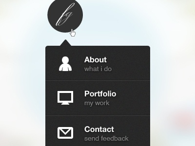 Dropdown Menu Design dropdown menu design ui ux black navigation template psd freebies icons