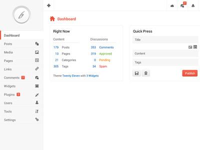 Admin Template Psd ui freebies template psd dashboard wordpress interface user interface gui web application web app web design admin