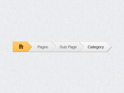 Breadcrumbs breadcrumbs ui gui user interface psd freebie template navigation interface