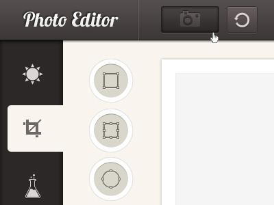 Photo editor psd