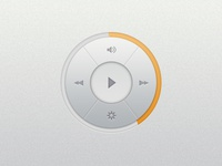 Music Player Widget (PSD)