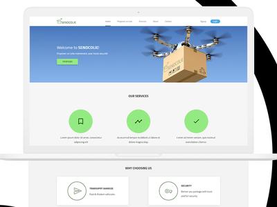 Free Simple landing page