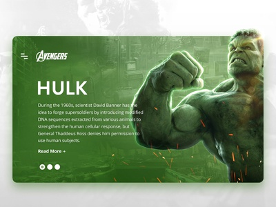Avengers - Hulk Design Concept