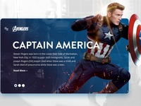 Avengers - Captain America Design Concept
