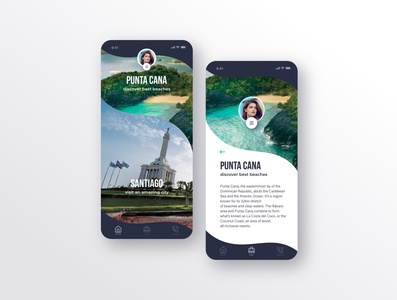Dominican Republic - Travel App Concept - By Ruben Cespedes