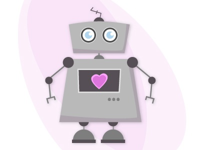 A robot with a big heart robot
