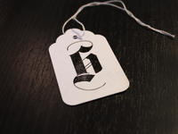h monogram stamp