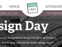 web design day 2012 site