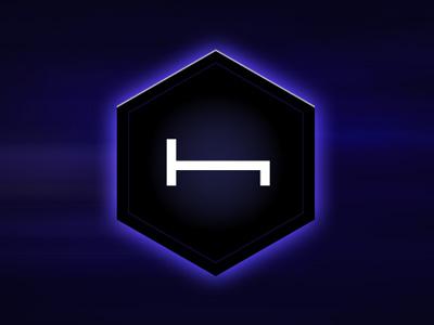 Night H-Bed logo light dark
