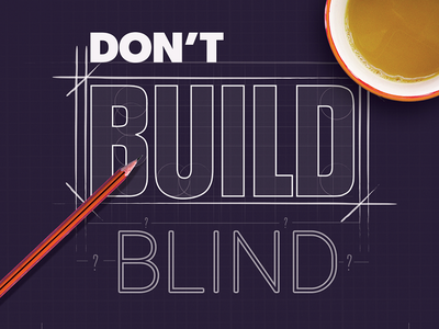 Don't Build Build cover typography diagram