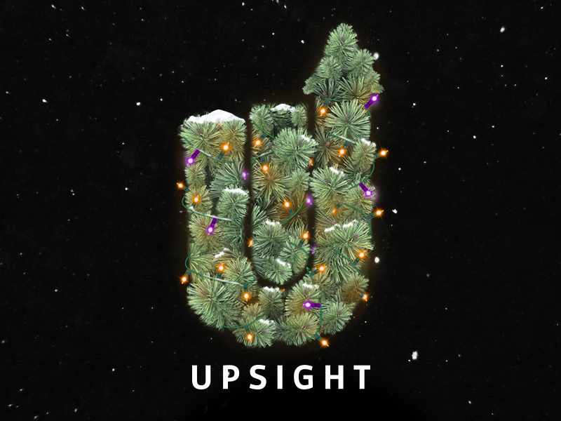 A White Upsight holidays snow realism wreath