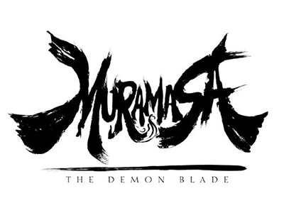 Muramasa Logo black and white proposal redesign logo