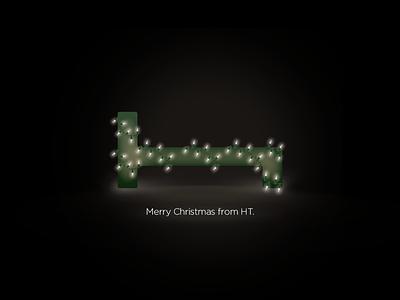A Very HT Merry Christmas logo christmas