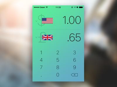 Currency Calculator - #DailyUI 004