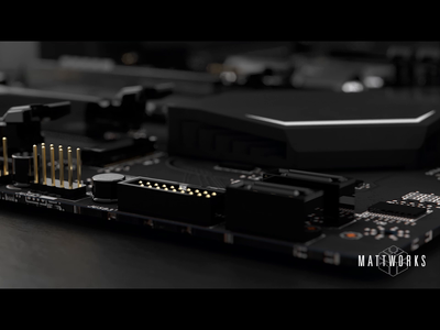 Motherboard Animated Study