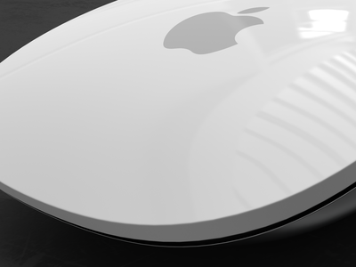 Apple Magic Mouse 3d motion graphics cinema 4d keyshot after effects apple apple mouse