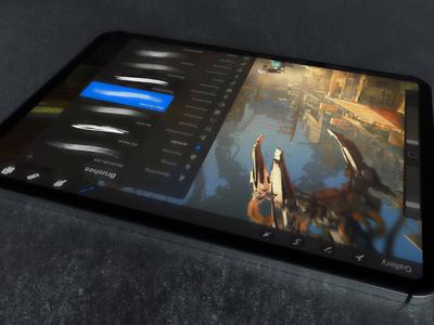 iPad Pro Animated - Procreate