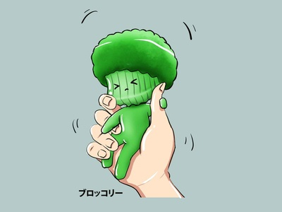 Brohand ( Broccoli in Hand )