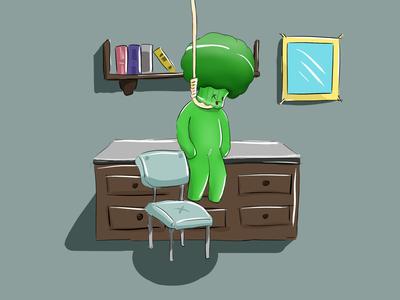 Broccoli suicide