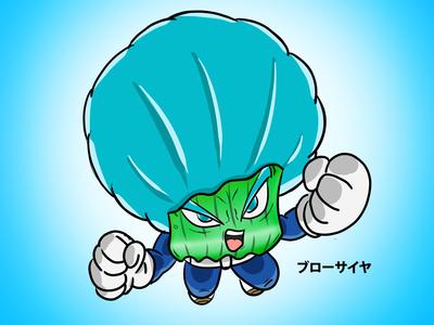 Broccoli Blue Saiyan