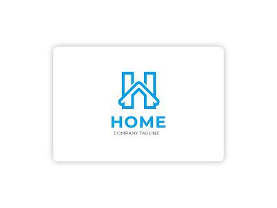 HOME Logo Concept illustration app hello design dribbble clean ui design ui ux branding logo