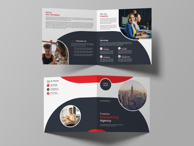 Bi-fold Square Brochure Design brand identity creative print design business brichure corporate brochure corporate brochure design template templatedesign square brochure bi-fold square brochure bi-fold brochure brochure template brochure design brochure vector branding illustration design
