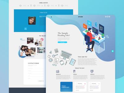 Product Designer Web Interface