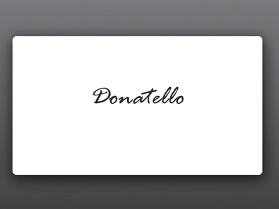 Donatello Pizza Place