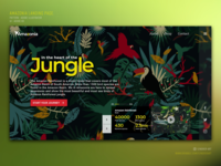 Amazonia Landing page