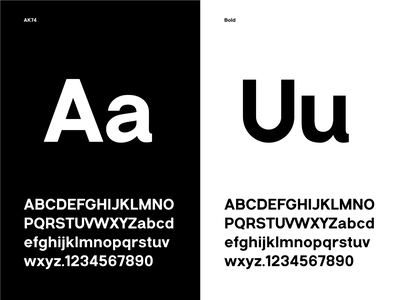 TCD-AK74-WIP design twisted helvetish type ak74 font