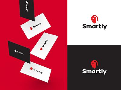 Smartly service online stuff smart logo