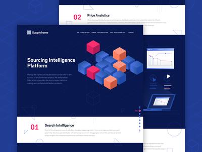 Sourcing Intelligence Platform data analytics search platform intelligence sourcing supplyframe