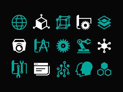 Supercon Icons glyph icons supercon hackaday