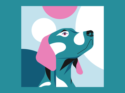 Doggo vector animal illustration animal dog illustrator illustration