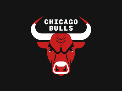 The Last Dance animal illustration bull nba basketball branding typography logo illustrator illustration