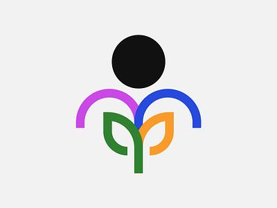Growth logo illustrator illustration
